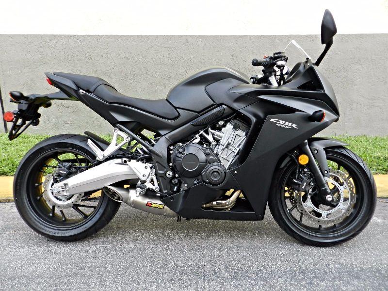 2016 Honda CBR650F ABS CBR 650 LIKE NEW EXTRAS  city Florida  MC Cycles  in Hollywood, Florida
