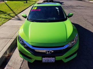 2016 Honda Civic LX-P Chico, CA 2