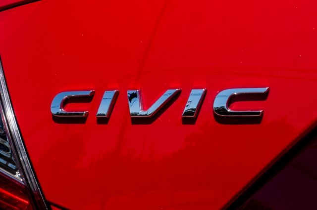 2016 Honda Civic EX - Rear view Camera - Lane Safety Camera Reseda, CA 47