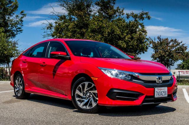 2016 Honda Civic EX - Rear view Camera - Lane Safety Camera Reseda, CA 3