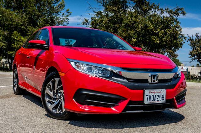 2016 Honda Civic EX - Rear view Camera - Lane Safety Camera Reseda, CA 43