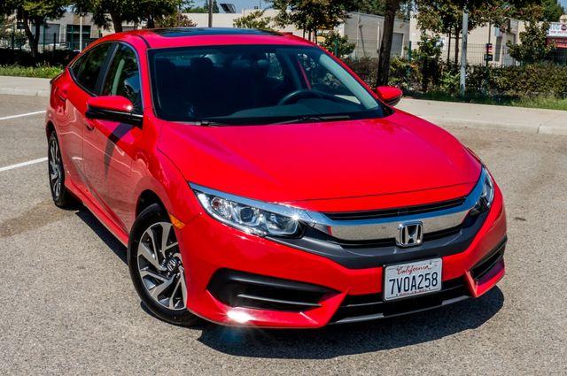 2016 Honda Civic EX - Rear view Camera - Lane Safety Camera Reseda, CA 42