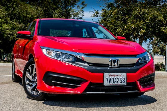 2016 Honda Civic EX - Rear view Camera - Lane Safety Camera Reseda, CA 41
