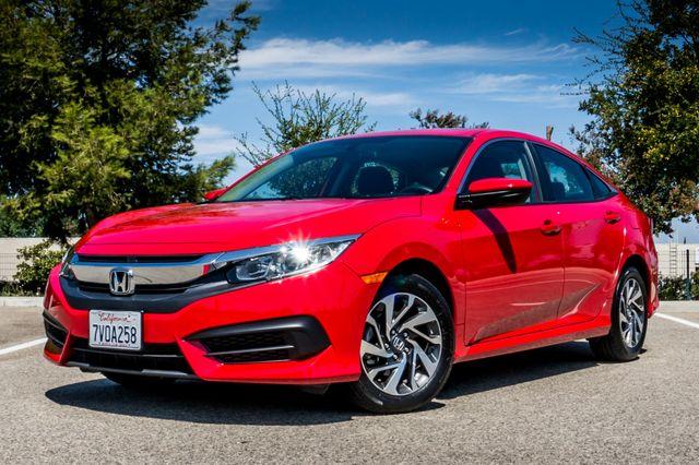 2016 Honda Civic EX - Rear view Camera - Lane Safety Camera Reseda, CA 1