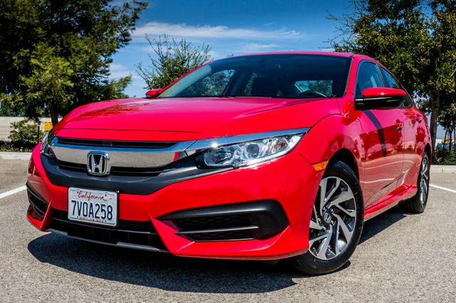 2016 Honda Civic EX - Rear view Camera - Lane Safety Camera Reseda, CA 39