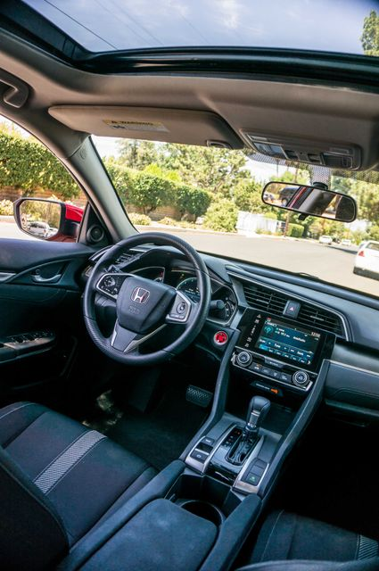 2016 Honda Civic EX - Rear view Camera - Lane Safety Camera Reseda, CA 34