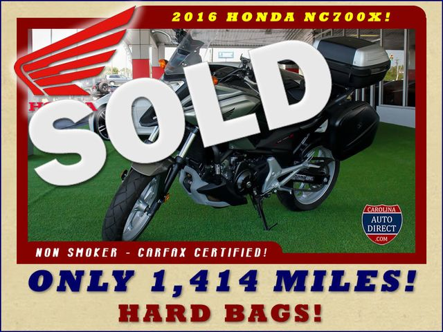 2016 Honda NC700X ONLY 1,414 MILES W/ UPGRADES! Mooresville , NC 0