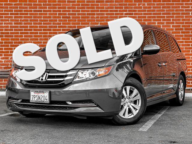 2016 Honda Odyssey EX-L Burbank, CA 0