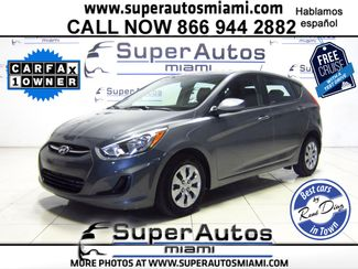2016 Hyundai Accent 5-Door GS Doral (Miami Area), Florida