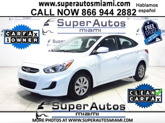 2016 Hyundai Accent SE Doral (Miami Area), Florida