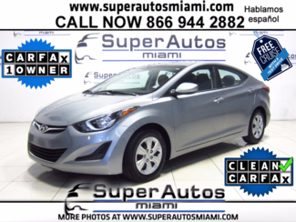 2016 Hyundai Elantra SE Doral (Miami Area), Florida
