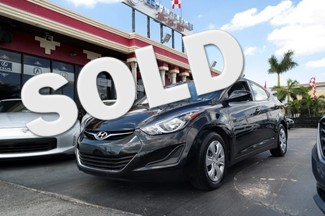 2016 Hyundai Elantra SE Hialeah, Florida