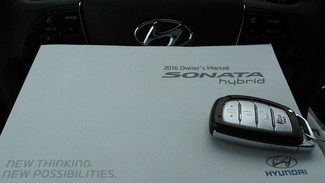 2016 Hyundai Sonata Hybrid SE East Haven, CT 37