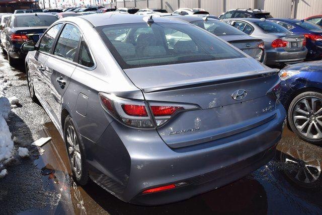 2016 Hyundai Sonata Hybrid SE Richmond Hill, New York 3
