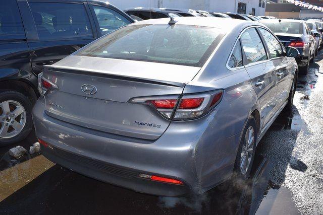 2016 Hyundai Sonata Hybrid SE Richmond Hill, New York 5