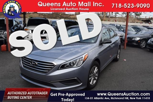 2016 Hyundai Sonata 2.4L Richmond Hill, New York 0