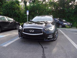2016 Infiniti Q50 Hybrid. NAVI. SONAR. SUNRF. WHEELS SEFFNER, Florida