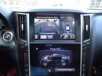 2016 Infiniti Q50 Hybrid. NAVI. SONAR. SUNRF. WHEELS SEFFNER, Florida 36