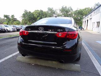 2016 Infiniti Q50 Hybrid. NAVI. SONAR. SUNRF. WHEELS SEFFNER, Florida 8