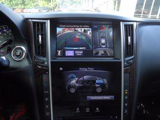 2016 Infiniti Q50 Hybrid. NAVI. SONAR. SUNRF. WHEELS SEFFNER, Florida 40