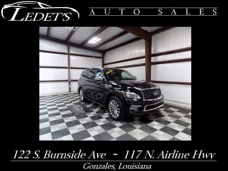 2016 Infiniti QX80  - Ledet's Auto Sales Gonzales_state_zip in Gonzales Louisiana