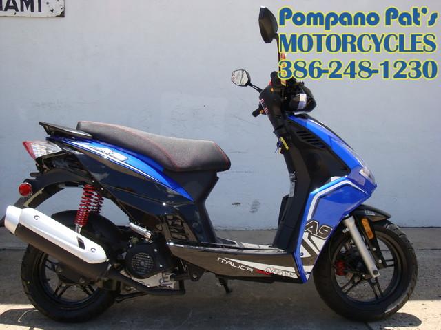 2016 Italica A-9 / 49cc scooter Daytona Beach, FL 0