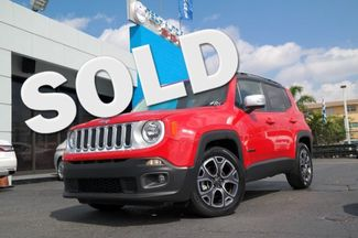 2016 Jeep Renegade Limited Hialeah, Florida
