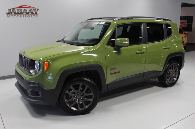 2016 Jeep Renegade 75th Anniversary Merrillville, Indiana 27