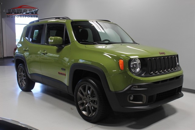 2016 Jeep Renegade 75th Anniversary Merrillville, Indiana 6