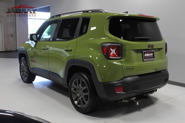 2016 Jeep Renegade 75th Anniversary Merrillville, Indiana 2