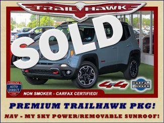 2016 Jeep Renegade Trailhawk 4WD - TOMAHAWK PKG - NAV - SUNROOF! Mooresville , NC