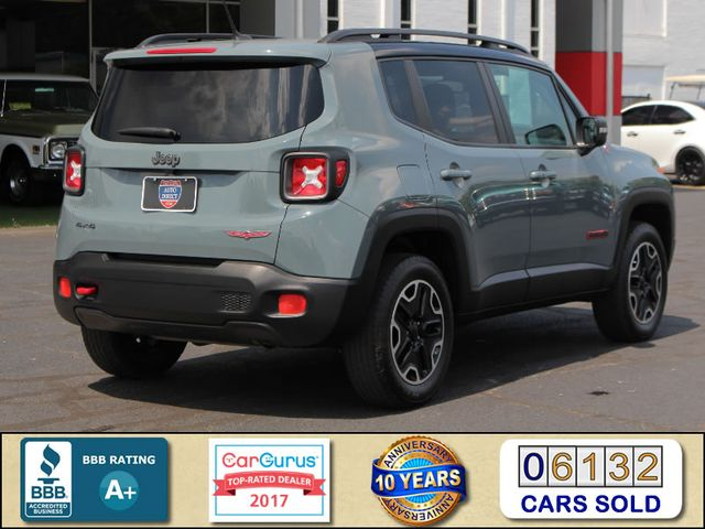 2016 Jeep Renegade Trailhawk 4WD - TOMAHAWK PKG - NAV - SUNROOF! Mooresville , NC 2