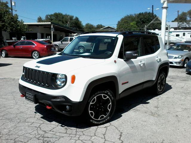 2016 Jeep Renegade Trailhawk 4x4 San Antonio, Texas 3