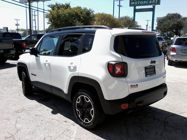 2016 Jeep Renegade Trailhawk 4x4 San Antonio, Texas 5