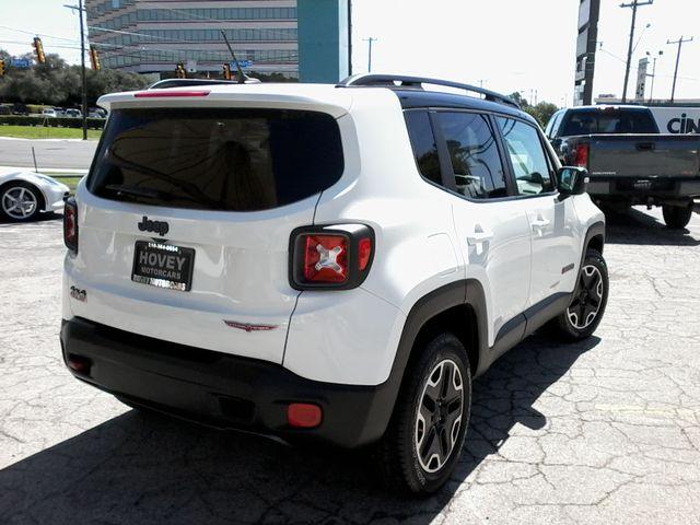 2016 Jeep Renegade Trailhawk 4x4 San Antonio, Texas 7