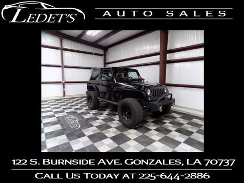 2016 Jeep Wrangler Black Bear - Ledet's Auto Sales Gonzales_state_zip in Gonzales, Louisiana