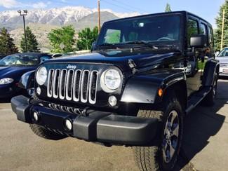2016 Jeep Wrangler Unlimited Sahara 4WD LINDON, UT 1
