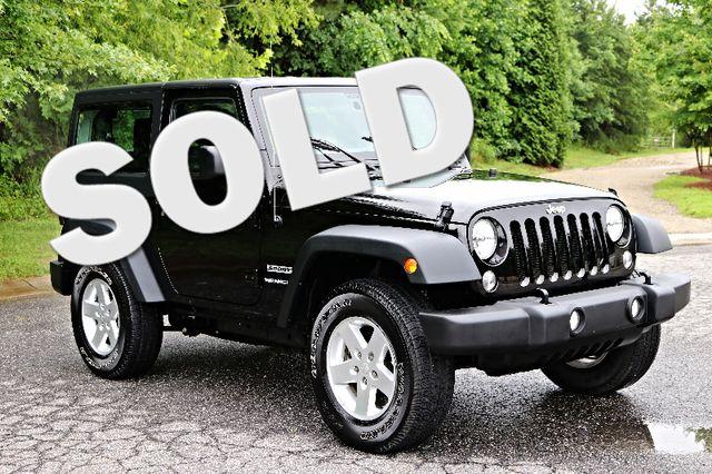 2016 Jeep Wrangler Sport Mooresville, North Carolina 0