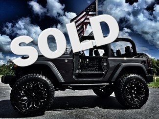 "2016 Jeep Wrangler CUSTOM LIFTED 35""S FUEL ASSAULTS Tampa, Florida"