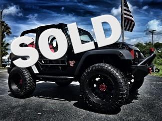 "2016 Jeep Wrangler CUSTOM LIFTED DV8 SMITTY 35""S Tampa, Florida"