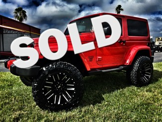 2016 Jeep Wrangler CUSTOM LIFTED SAHARA LEATHER HARDTOP in ,, Florida