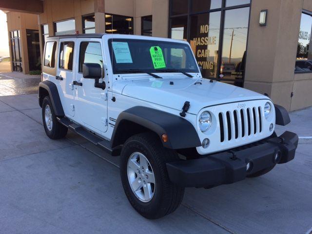 2016 Jeep Wrangler Unlimited Sport Bullhead City, Arizona 37
