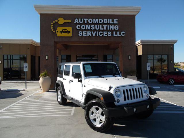 2016 Jeep Wrangler Unlimited Sport Bullhead City, Arizona 0
