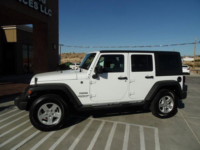 2016 Jeep Wrangler Unlimited Sport Bullhead City, Arizona 3