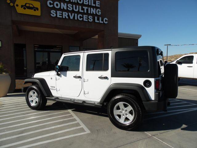 2016 Jeep Wrangler Unlimited Sport Bullhead City, Arizona 4