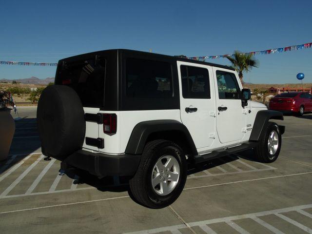 2016 Jeep Wrangler Unlimited Sport Bullhead City, Arizona 8
