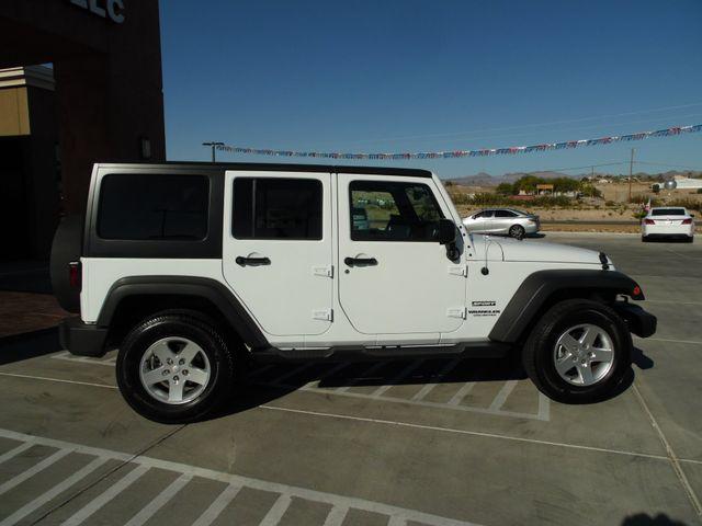 2016 Jeep Wrangler Unlimited Sport Bullhead City, Arizona 9