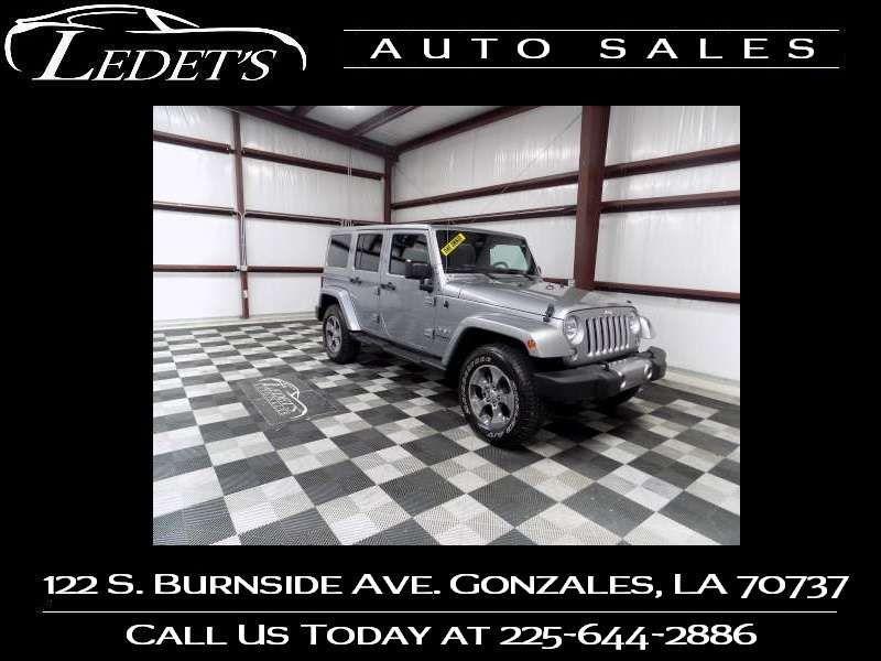 2016 Jeep Wrangler Unlimited Sahara - Ledet's Auto Sales Gonzales_state_zip in Gonzales Louisiana