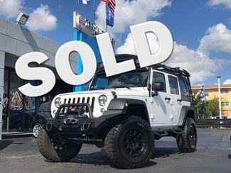 2016 Jeep Wrangler Unlimited Sport Hialeah, Florida