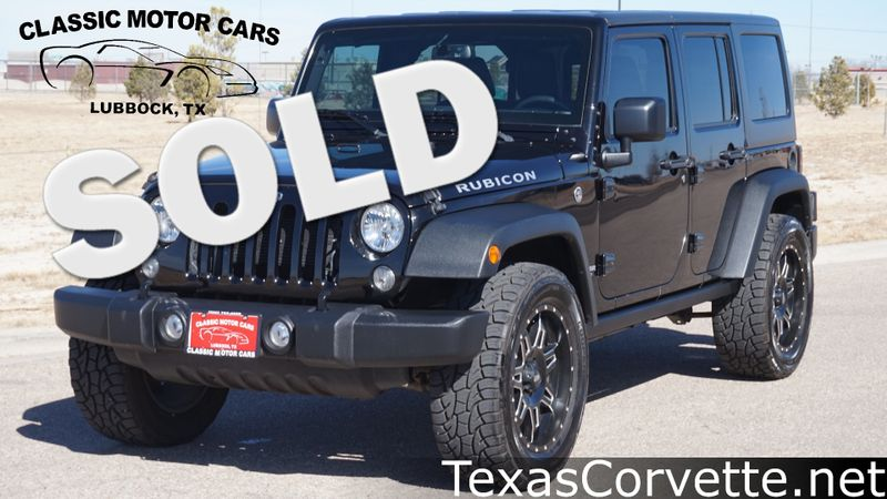 2016 Jeep Wrangler Unlimited Rubicon | Lubbock, Texas | Classic Motor Cars